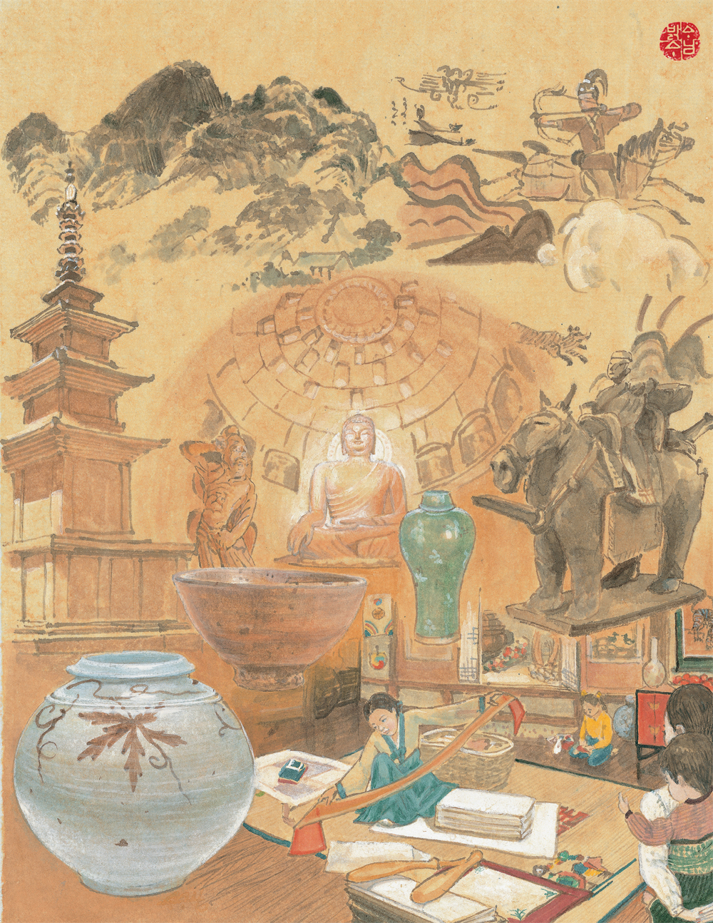 an introduction to the analysis of the aesthetics of korean art • japan, 500-1000 ad [timeline of art history, the metropolitan museum of art] the introduction of buddhism to the japanese archipelago.